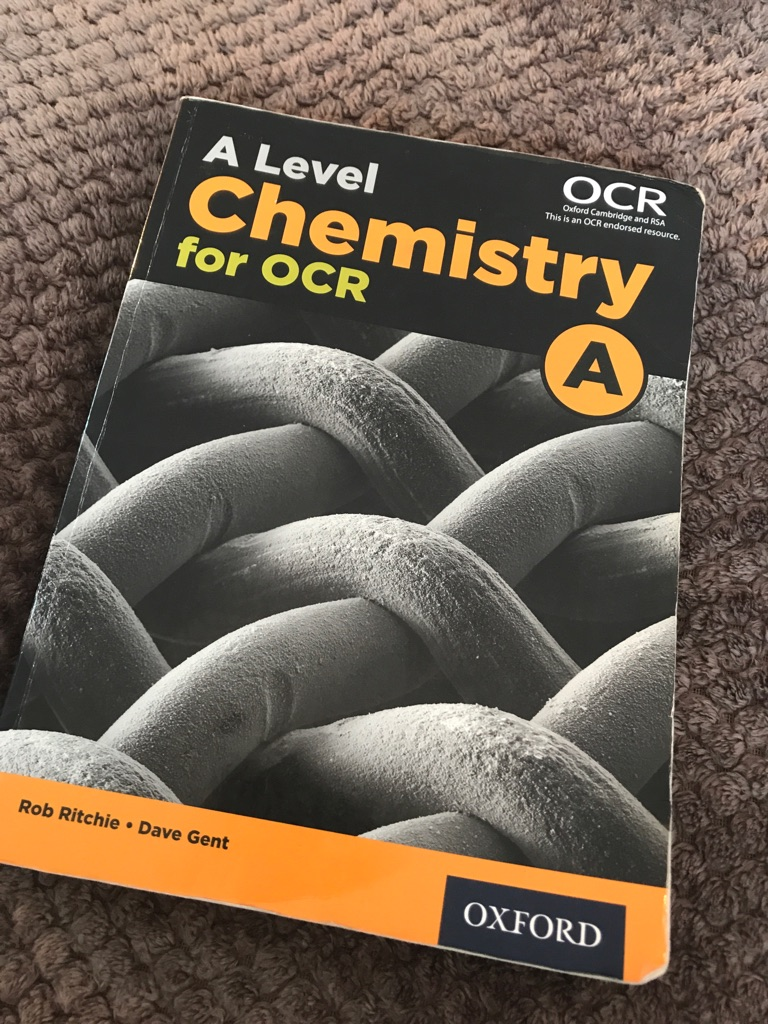 OCR A Chemistry A level
