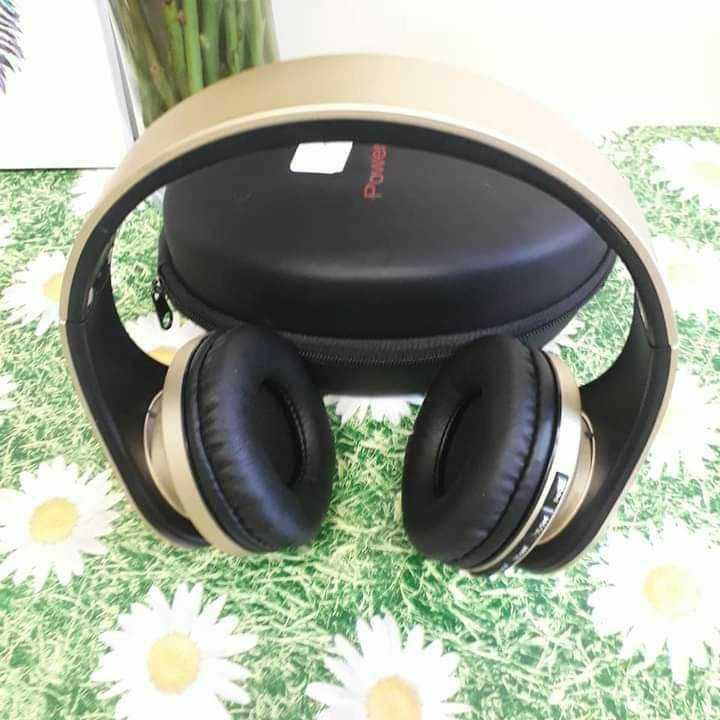 PowerLocus Wireless Bluetooth Over-Ear Stereo Foldable Headphones