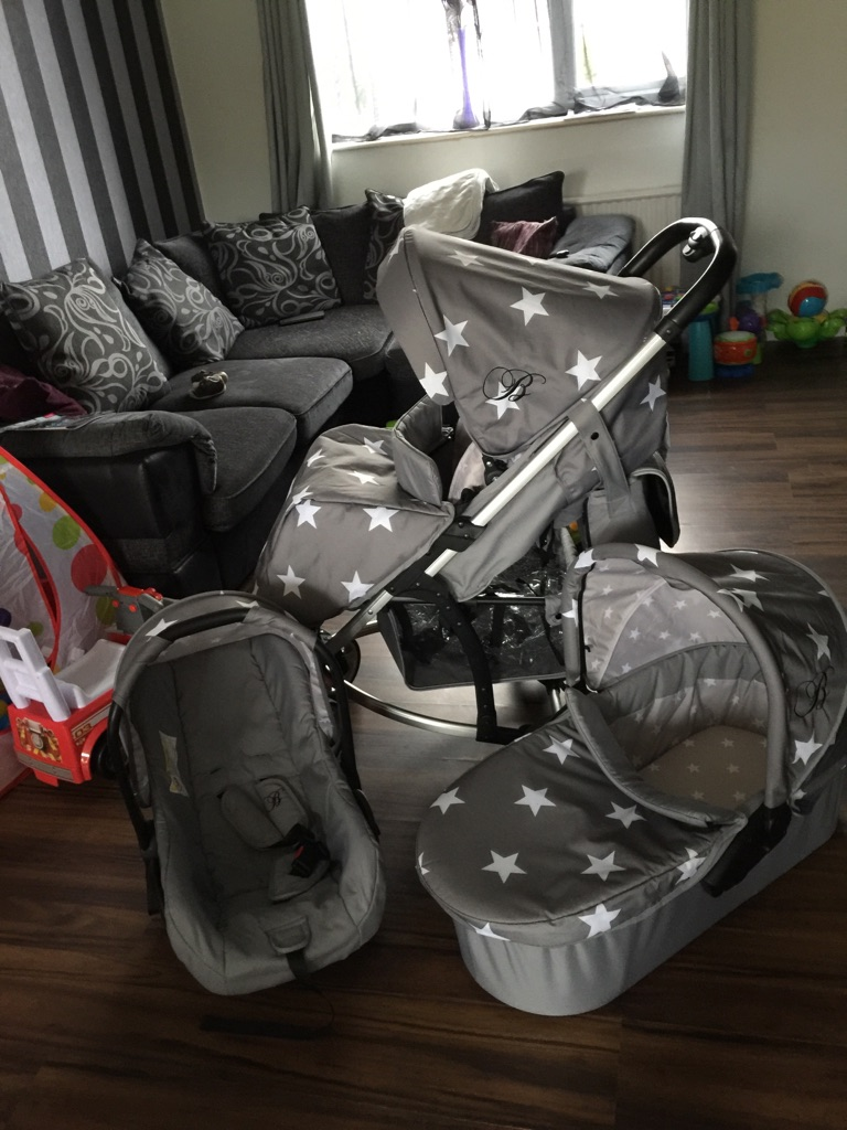 My babiie star travel system