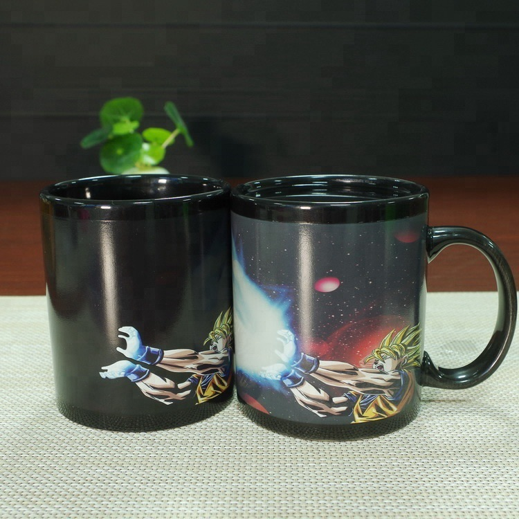Dragon Ball Z Goku Kamehameha Heat Changing Ceramic Coffee Mug