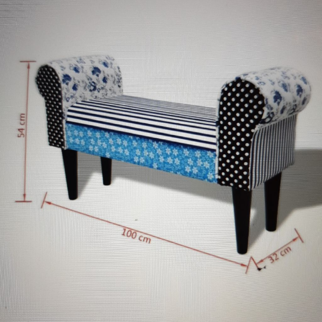 Patchwork bench