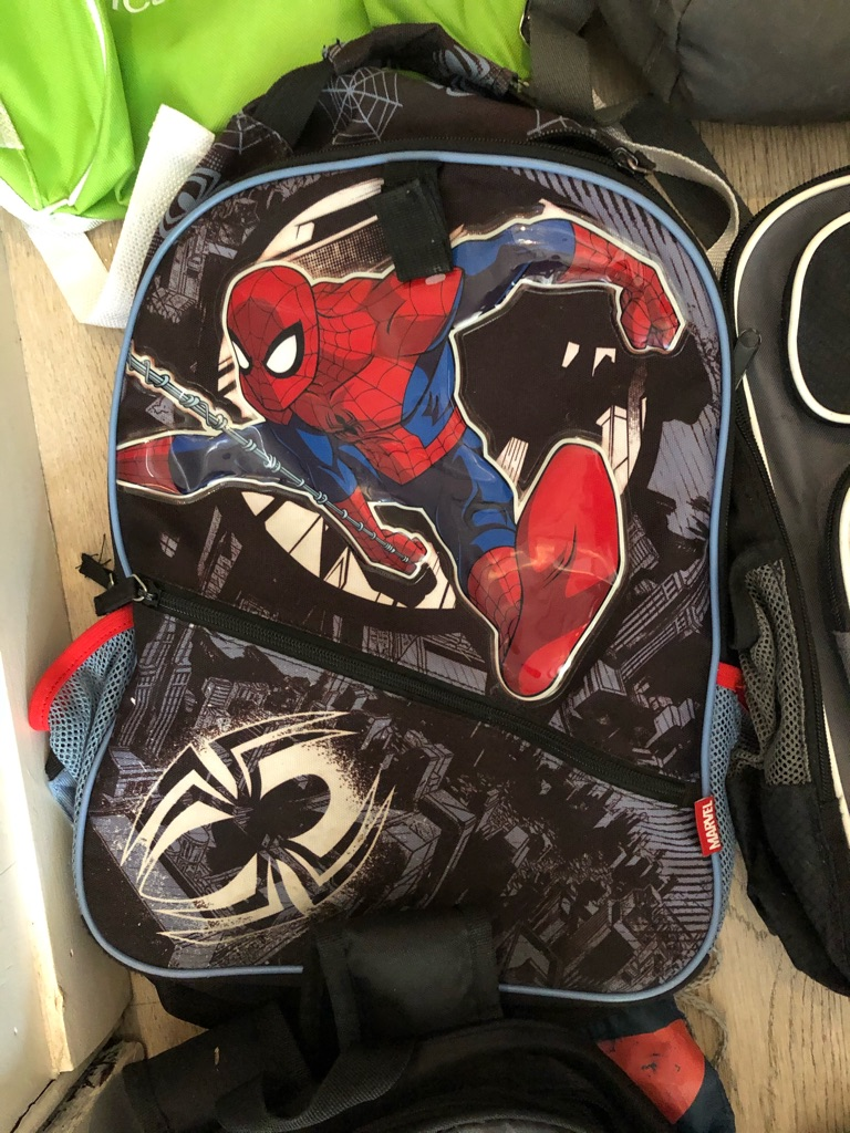 6 bags inc Spider-Man and star wars