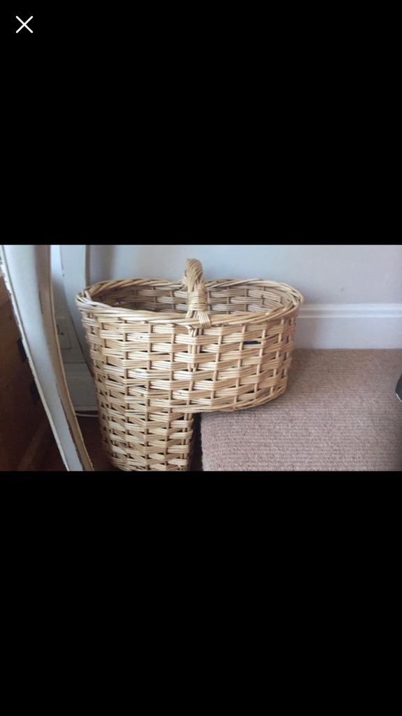 Stairs basket