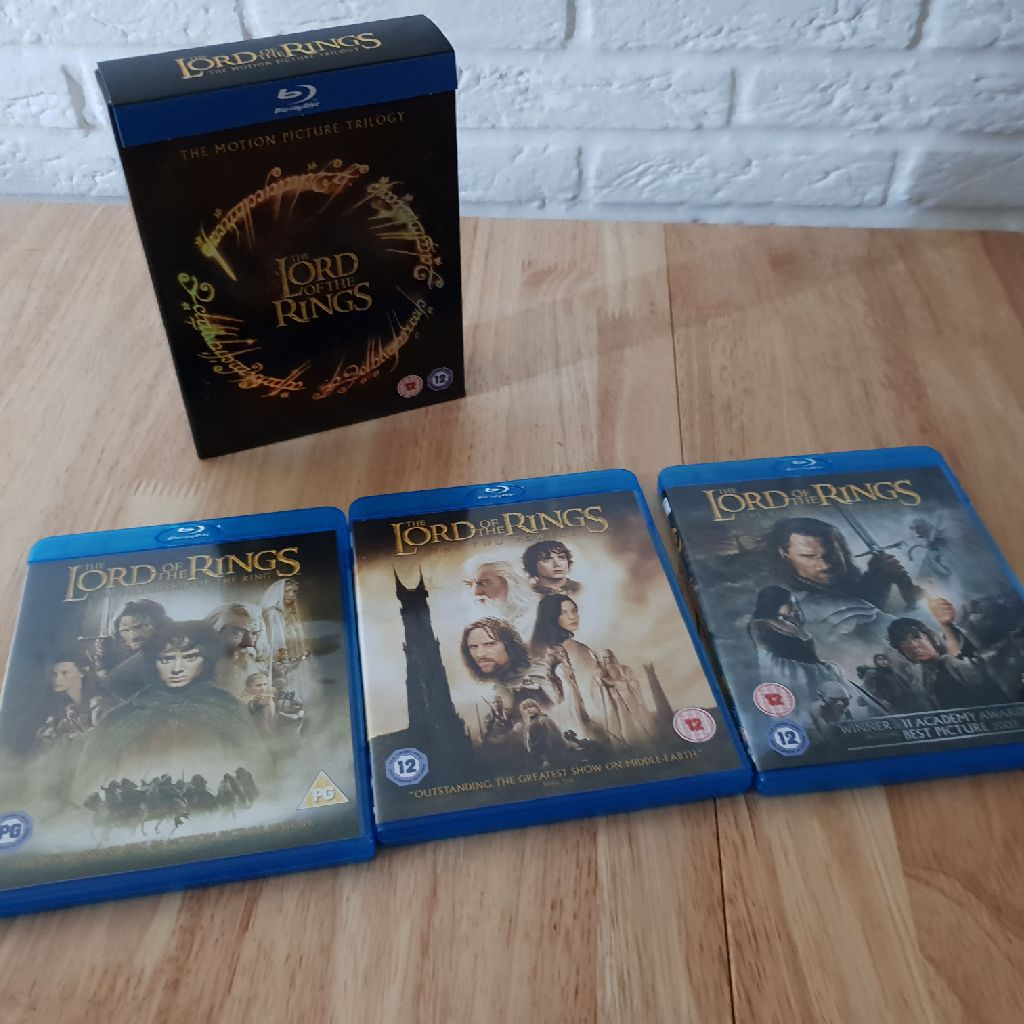 Lors of the Rings Trilogy Blu ray