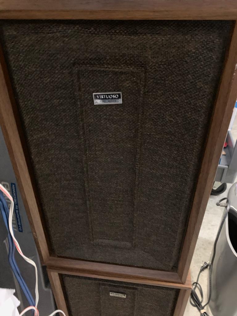 Vintage speakers hi fi