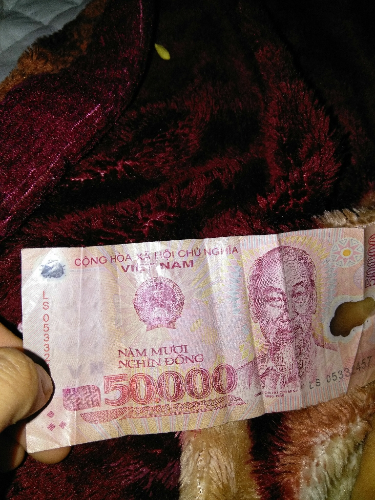 $50.000 Vietnam dollar