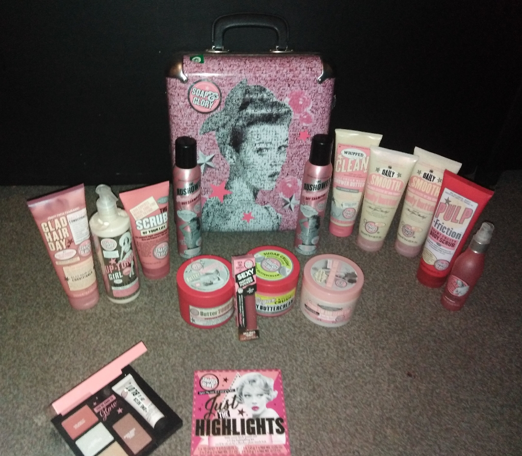 SOAP & GLORY BIG BUNDLE CASE SET 🛍️
