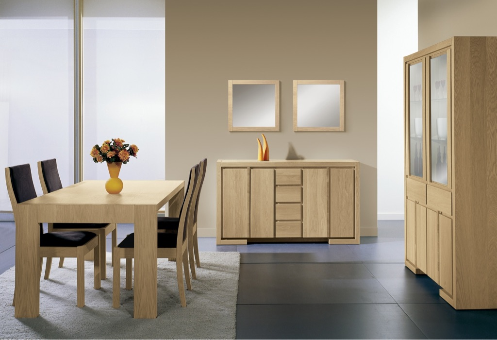 Quba extending table 160-260. 8 chairs, 2 side boards