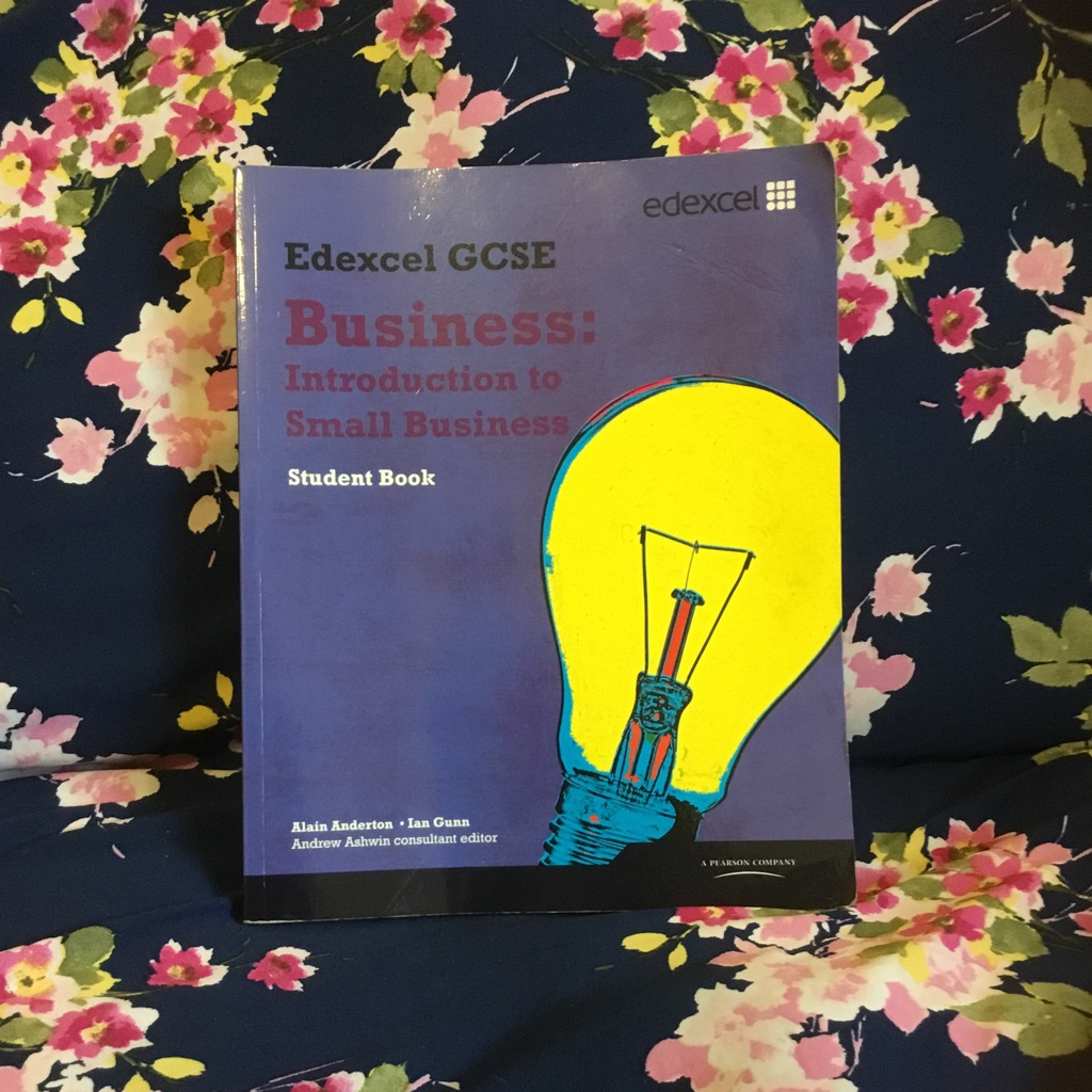 GCSE Edexcel business textbook (single)