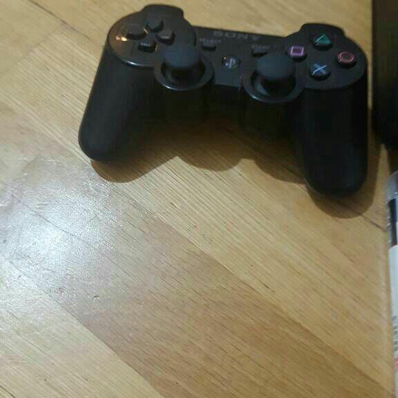 Playstation 3 with 2 games