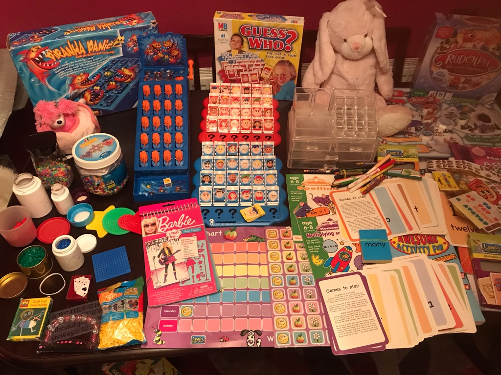 A Brilliant Bundle of Children's Games/ Activities of more than 100 items in total