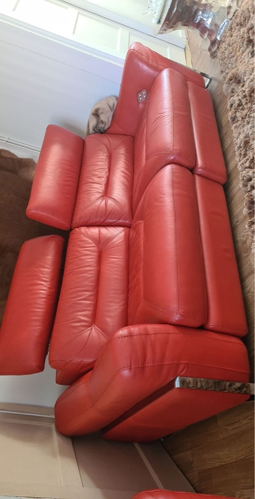 Dfs leather recliner