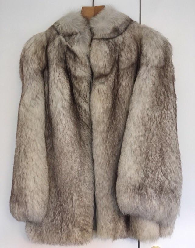 Vintage Arctic Fox Fur Coat
