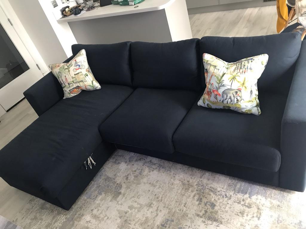 Sofa Chaise Longue Ikea.Ikea Vimle Sofa