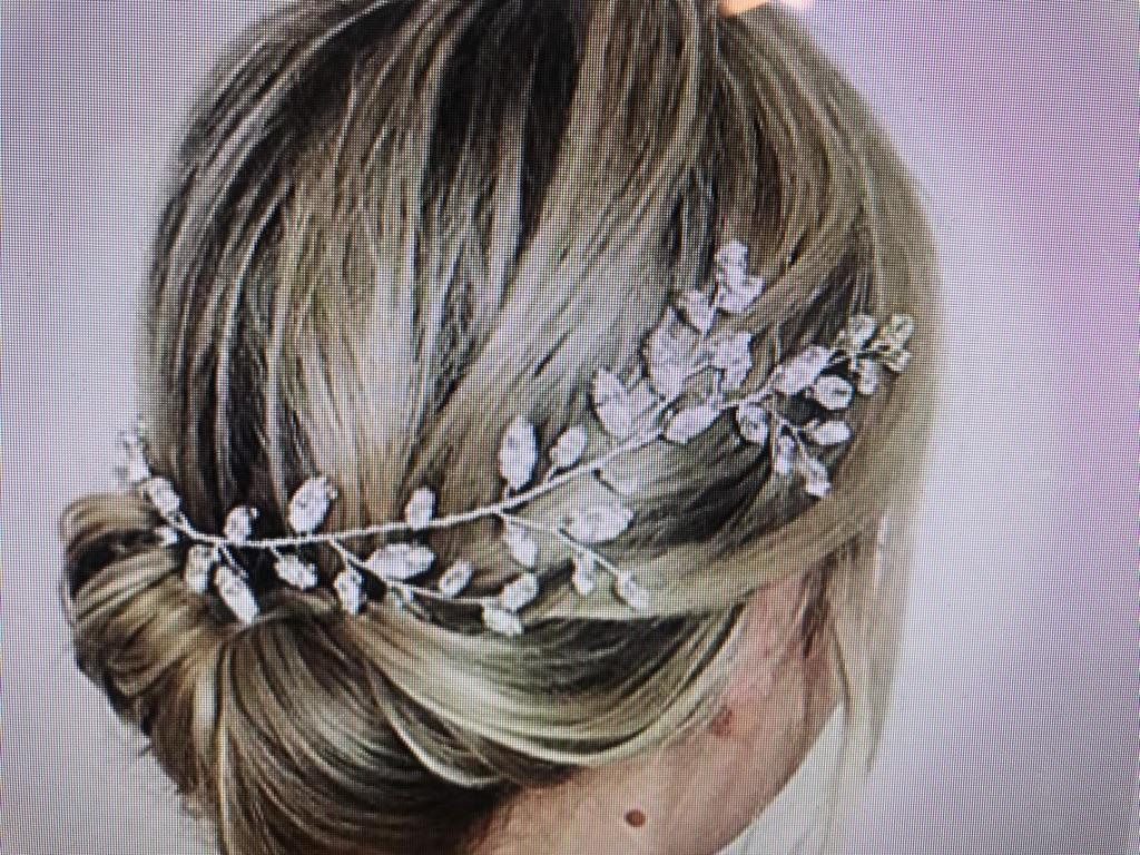 Crystal Hair Vine Wedding