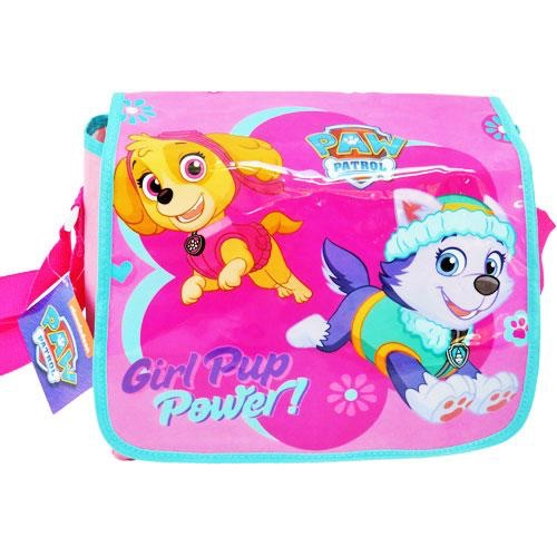 Girls paw patrol messenger bag- book bag