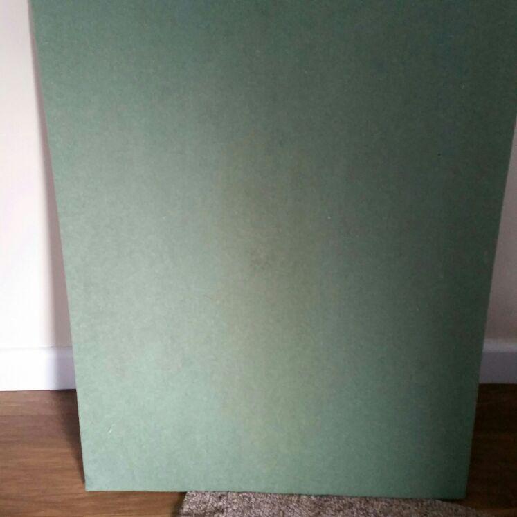 Fibreboard underlay for laminate flooring