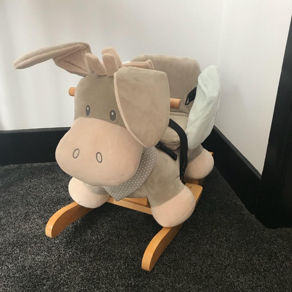 Nattou rocking donkey