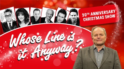 Ticket to 'Whose Line is it Anyway?' 16/12/18