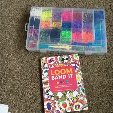 Loom Bands And Book £5