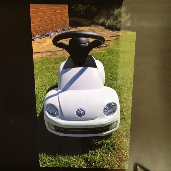 Genuine VW sit on car