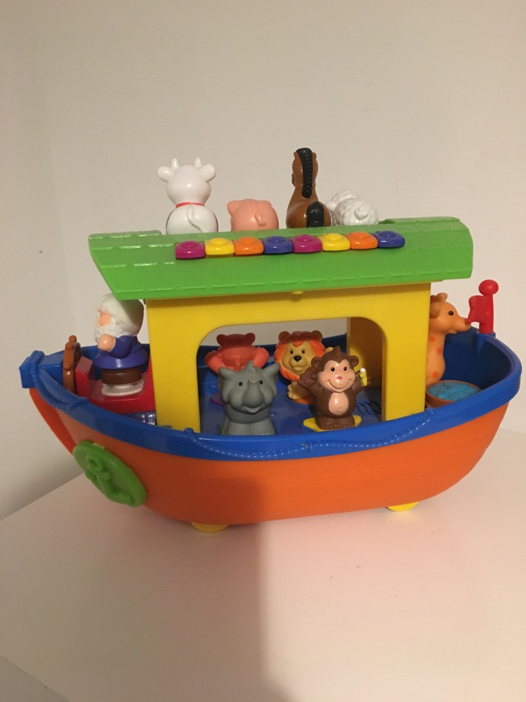 Noah's Ark & Farm Tractor