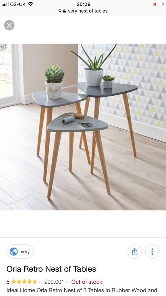 MODERN Nest of tables