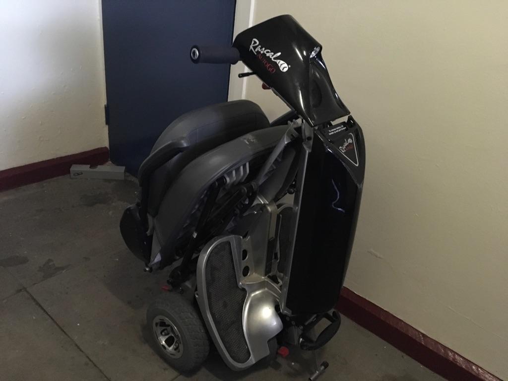 Rascal AutoGo folding scooter