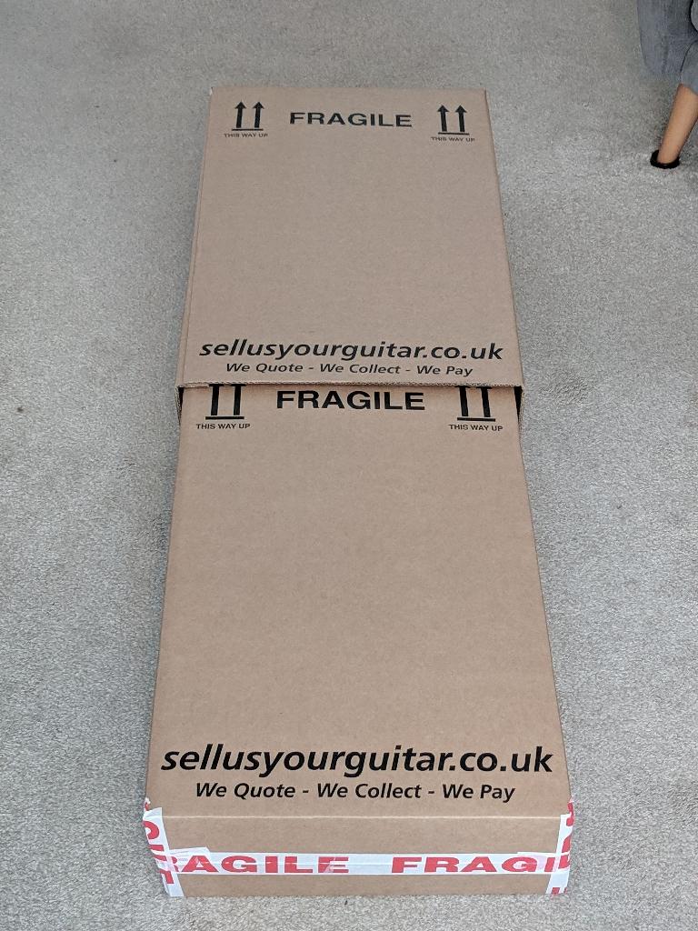 Expanding Guitar Packaging