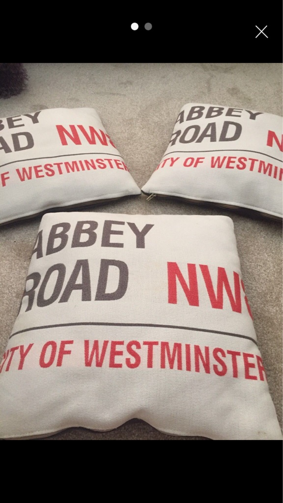 Harvey's cushions
