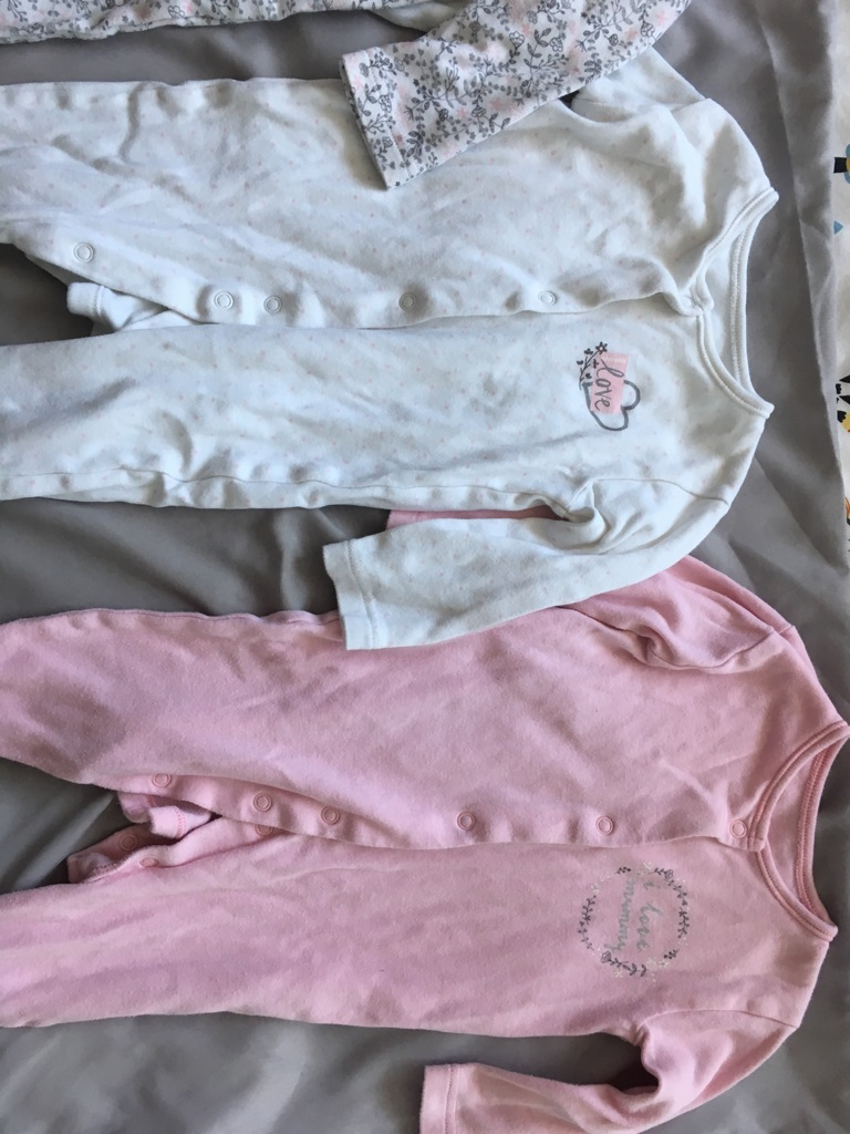 10 baby grows 3-6 months