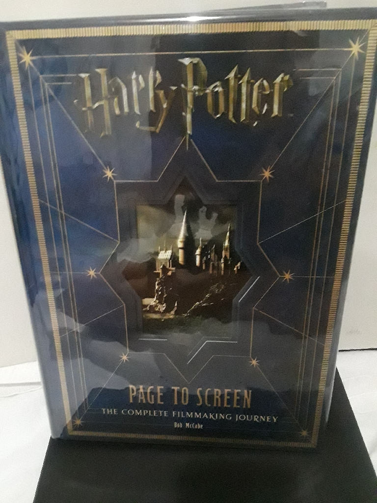 Harry Potter PAGE TO SCREEN: Complete Filmmaking Journey by Bob McCabe (HARDCOVER)