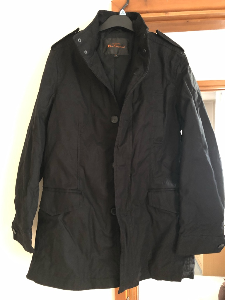 Ben Sherman black coat