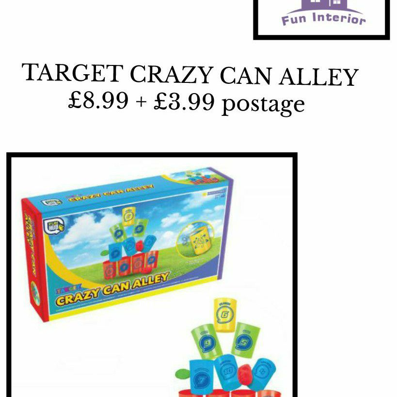 TARGET CRAZY CAN ALLEY
