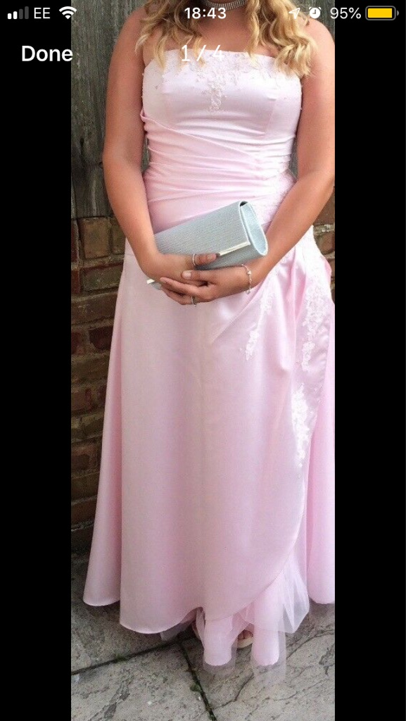 Prom dress size 10-12