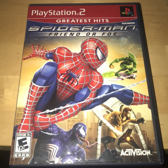 Spider-Man Friend or Foe for PlayStation 2