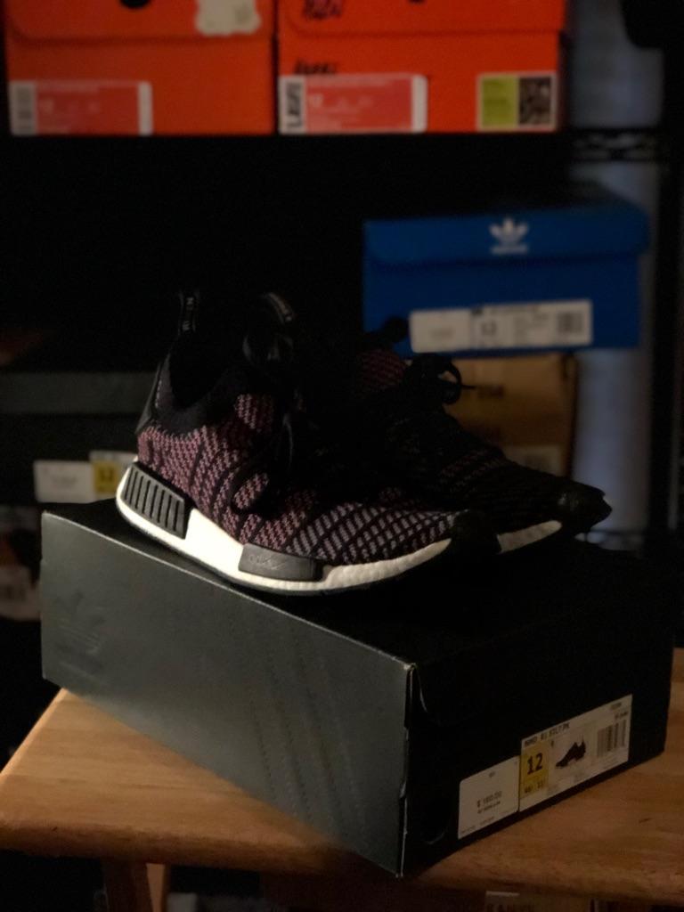 Adidas nmd primeknit pink