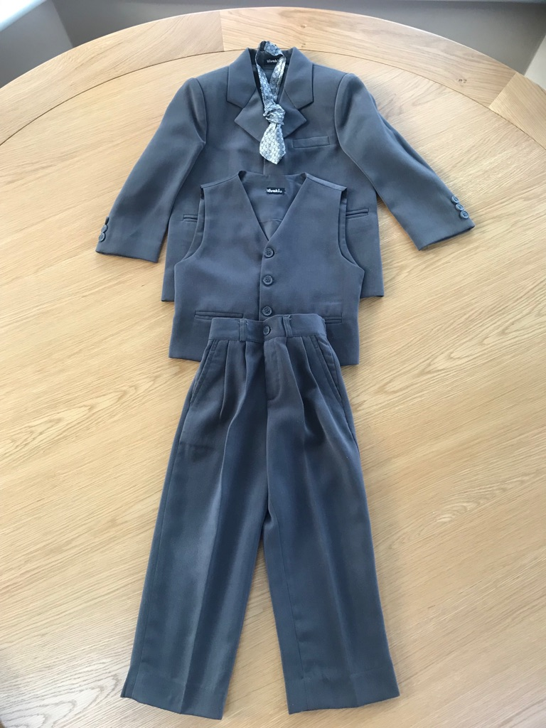 Children's three piece suit aged 5-6 years.