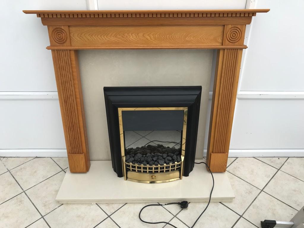 Dimplex fire and surround