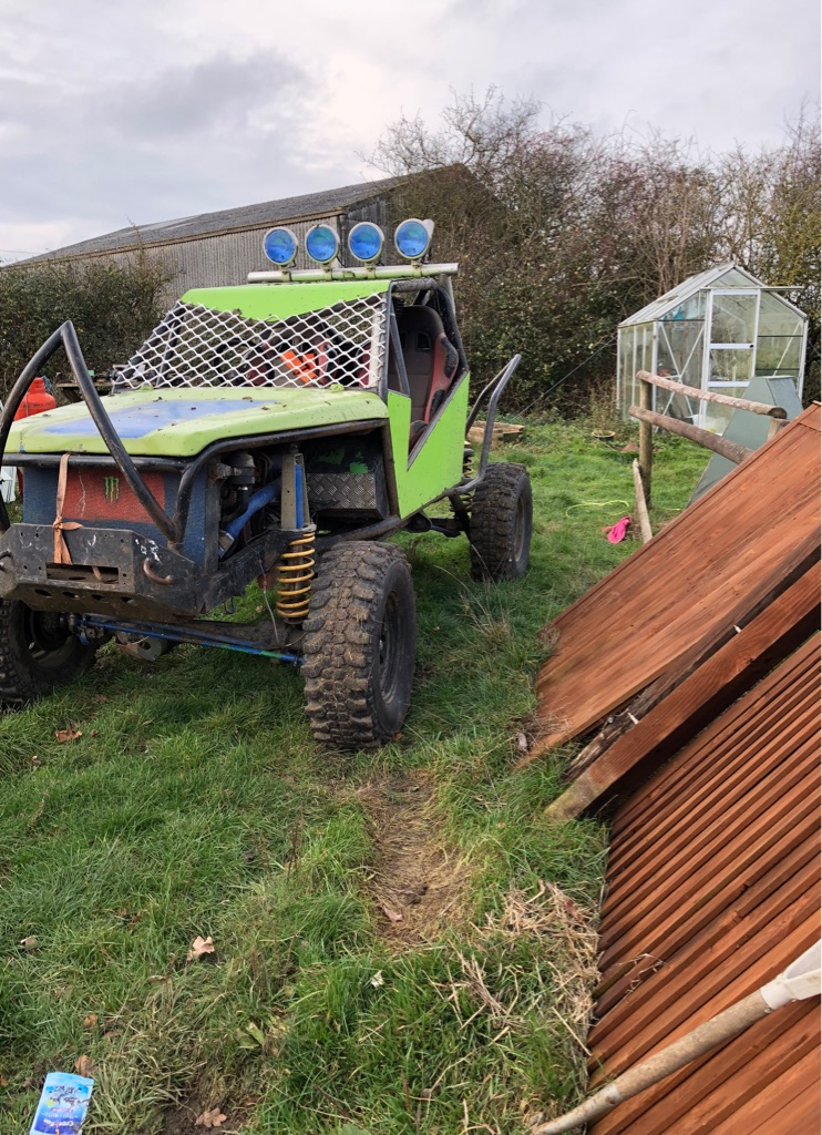 Off road adult buggy V8 2.5L TDI