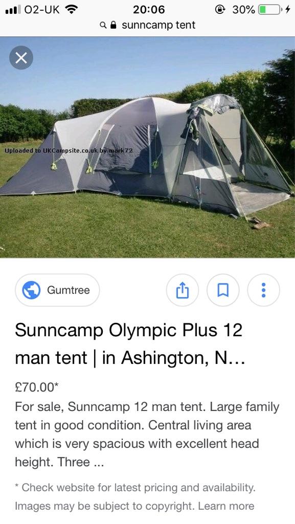 12 berth tent