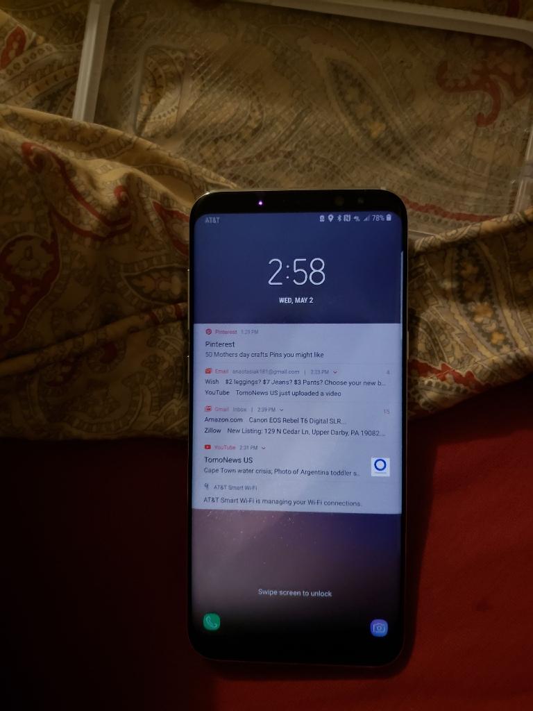 Samsung galaxys8 plus