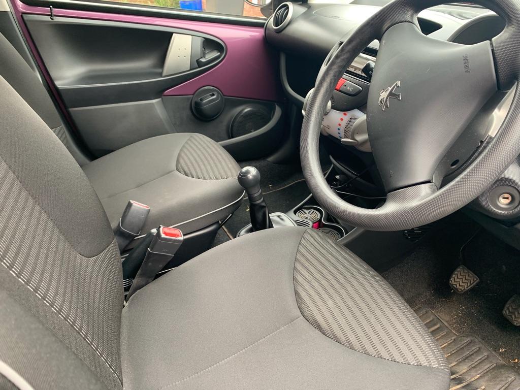 Peugeot 107 hatchback 5 doors