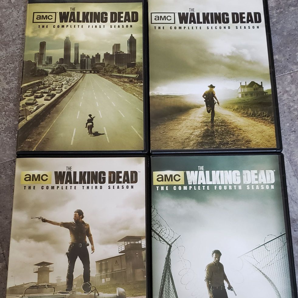 The walking dead season 1-4