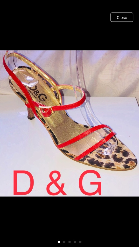 Authentic Dolce & Gabbana sandals