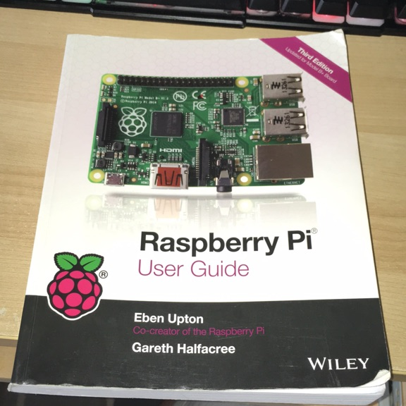 Raspberry Pi 3rd edition User Guide book