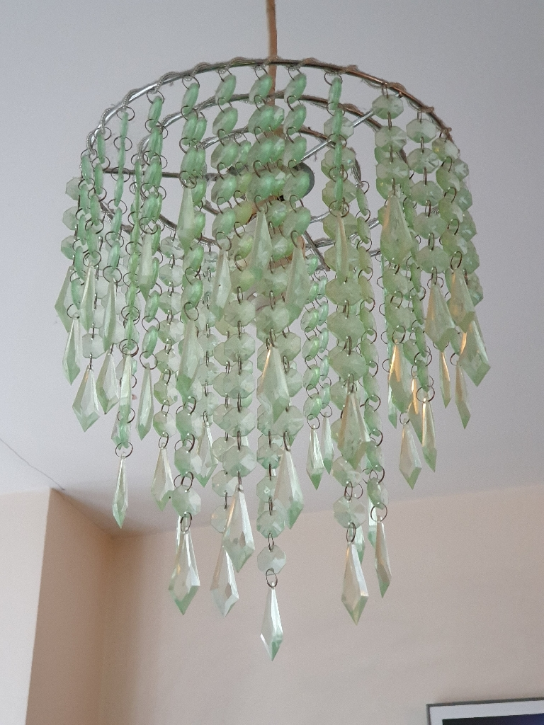 Beaded light shade