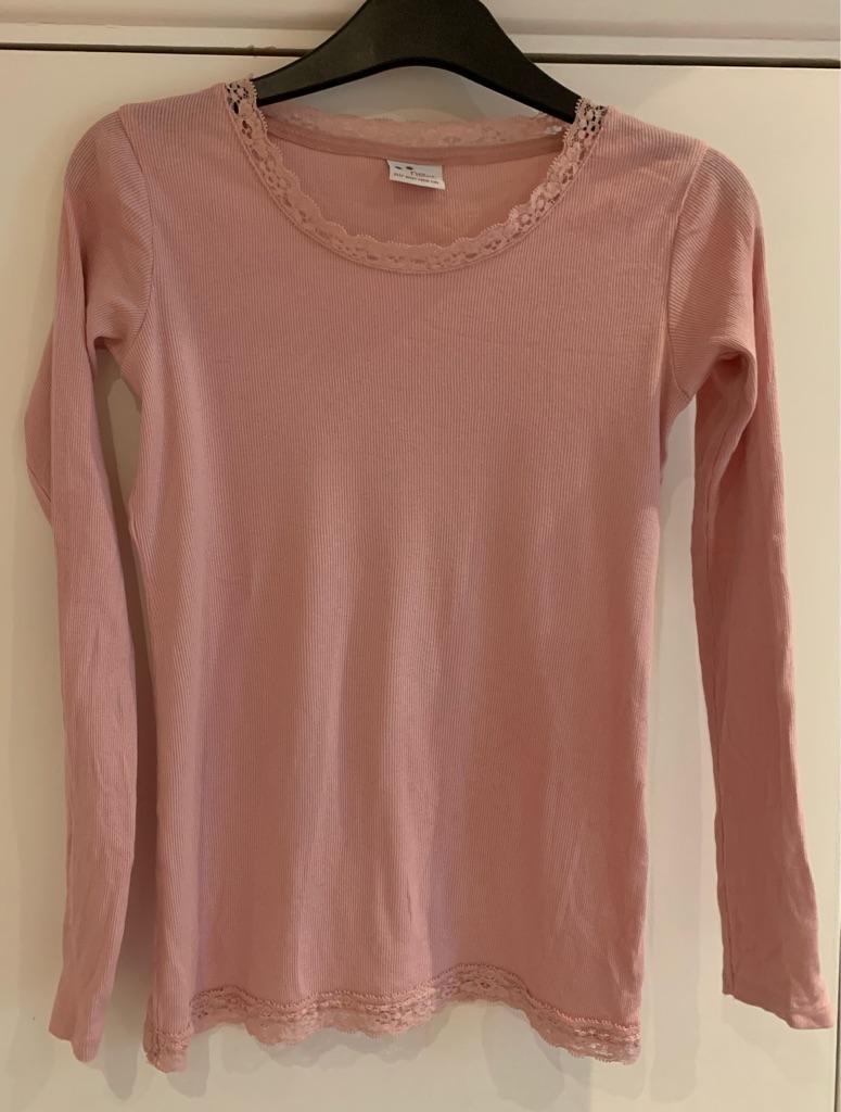Girls pink long sleeve T-shirt 11 years