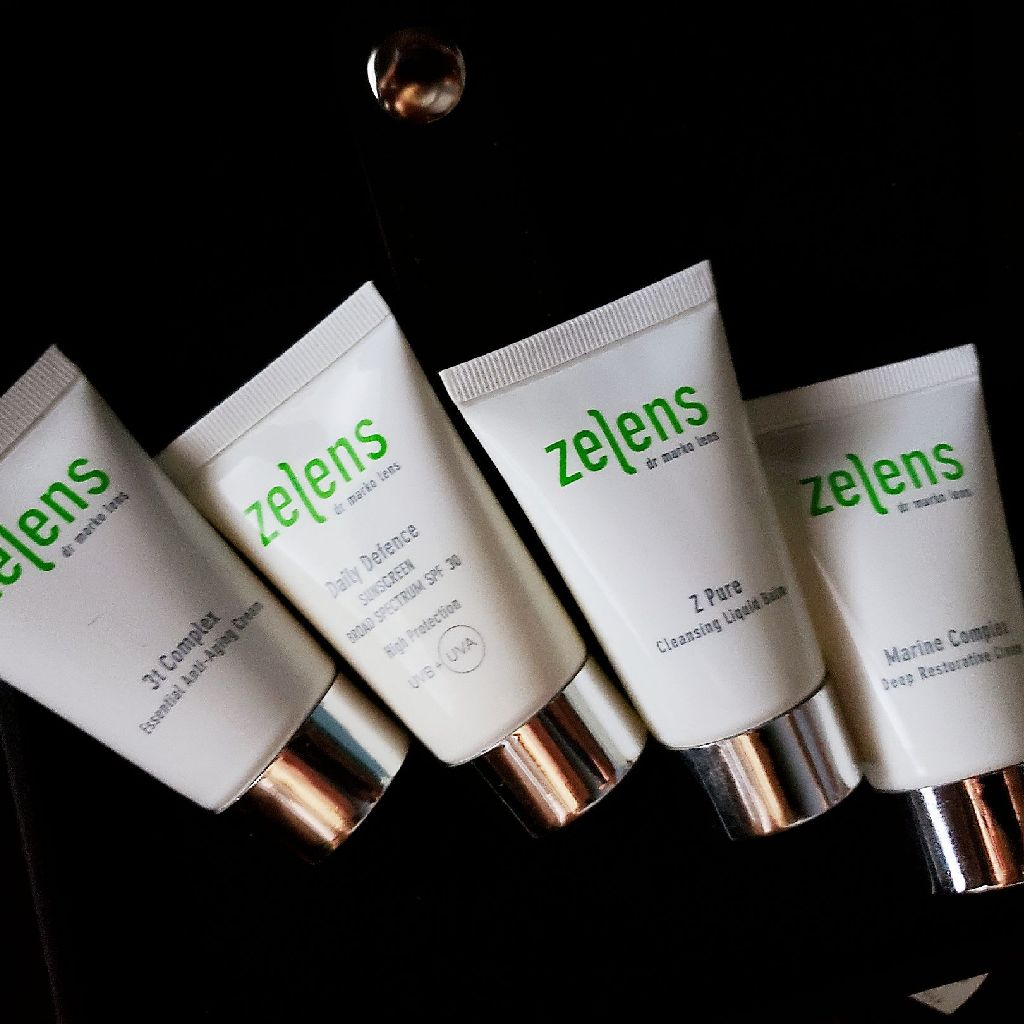 ZELEN skincare travel set