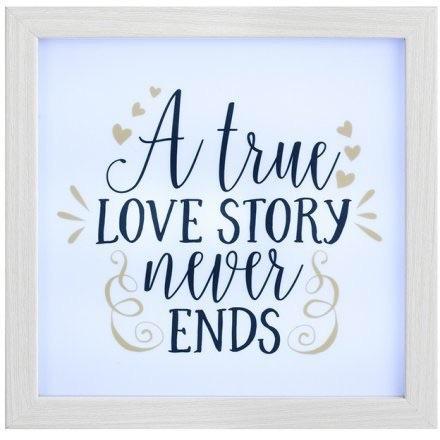 A True Love Story - Illuminating Frame
